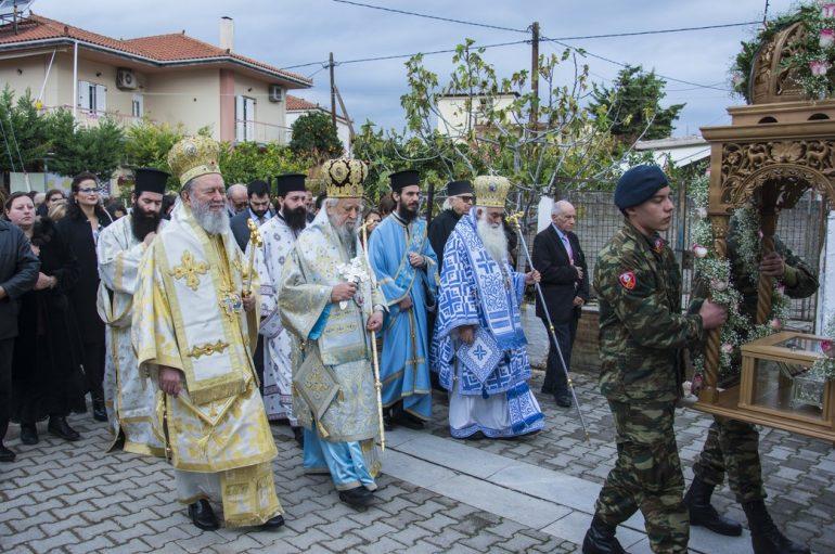 Εορτή του Οσίου Πορφυρίου στην γεννετειρά του (ΦΩΤΟ)