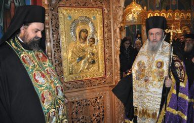 Ενθρόνιση της Παναγίας Βηματάρισσας στο Αντίρριο (ΦΩΤΟ-ΒΙΝΤΕΟ)