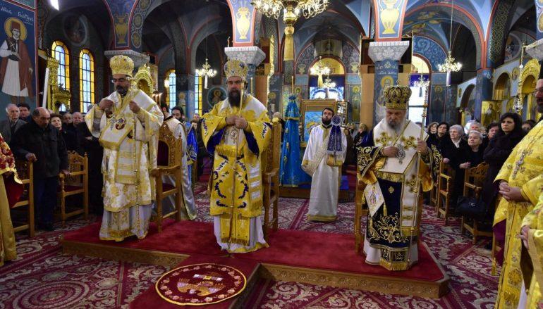 Αρχιερατικό Συλλείτουργο για την εορτή του Αγίου Νικολάου στην Λάρισα (ΦΩΤΟ)