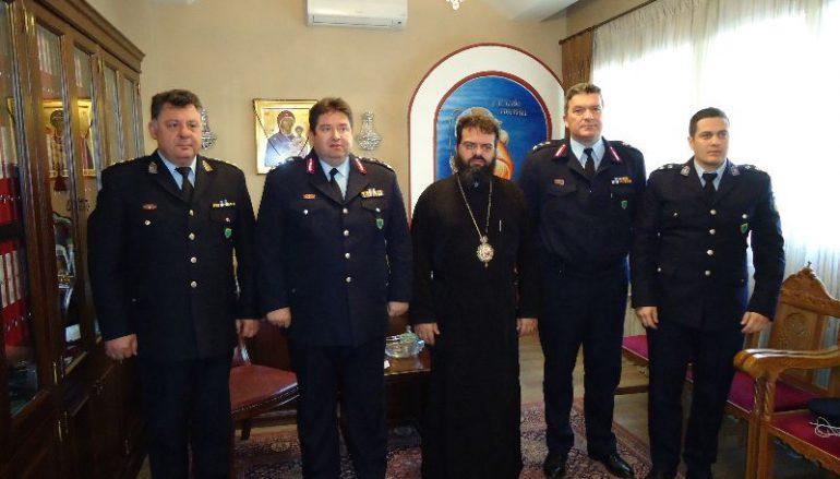 Ο Γεν. Επιθεωρητής Αστυνομίας Β. Ελλάδος στον Μητροπολίτη Μαρωνείας (ΦΩΤΟ)