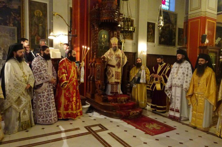 Η εορτή του Αγίου Αμβροσίου επισκόπου Μεδιολάνων στην Πάτρα (ΦΩΤΟ)