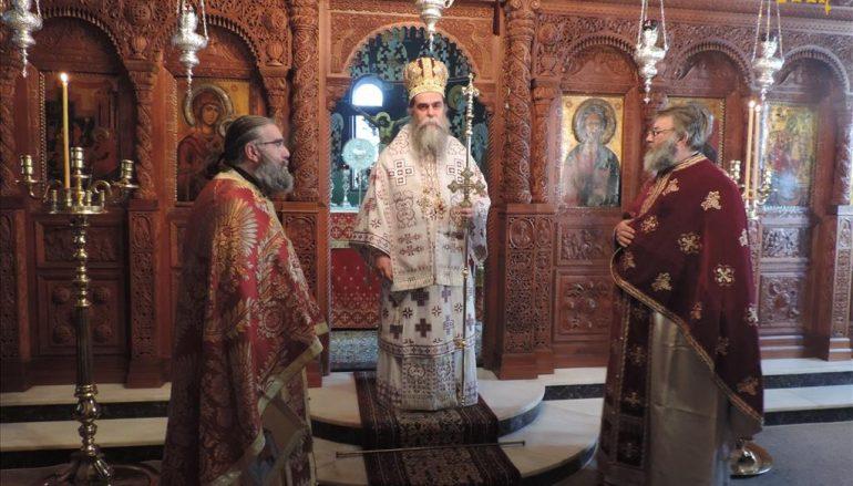 Μνήμη του Αγίου Στεφάνου στην Μονή Ροβελίστης Άρτης (ΦΩΤΟ)