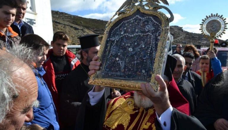 Η Τήνος εόρτασε την 174η επέτειο από τη διάσωση της Εικόνας της Μεγαλόχαρης (ΦΩΤΟ)