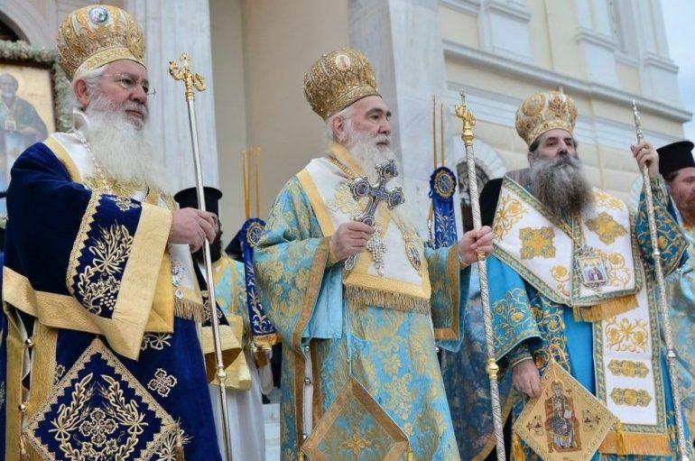 Παρουσία του Προέδρου της Δημοκρατίας η εορτή του Αγίου Νικολάου στον Πειραιά (ΦΩΤΟ)