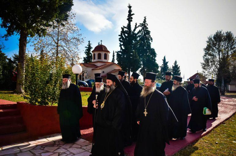 Ιερατική Σύναξη των Κληρικών της Μητροπόλεως Λαγκαδά (ΦΩΤΟ)