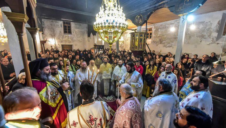 Εγκαινια του Ι. Ναού Αγίας Παρασκευής Κολχικού (ΦΩΤΟ)