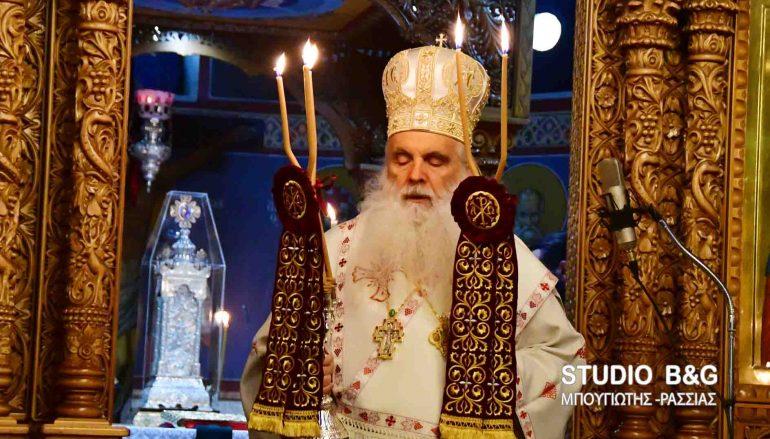 Η εορτή της Παναγίας της Γερόντισσας στο Ναύπλιο (ΦΩΤΟ-ΒΙΝΤΕΟ)