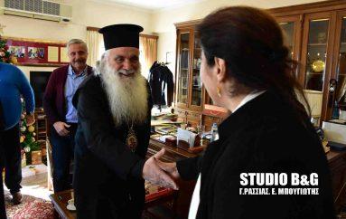 Η Υπουργός Πολιτισμού στο Ναύπλιο για τον Μητροπολιτικό Ναό (ΦΩΤΟ)