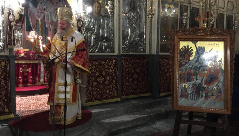 Η Δεσποτική εορτή της του Χριστού Γεννήσεως στην Ι. Μ. Κυδωνίας (ΦΩΤΟ)