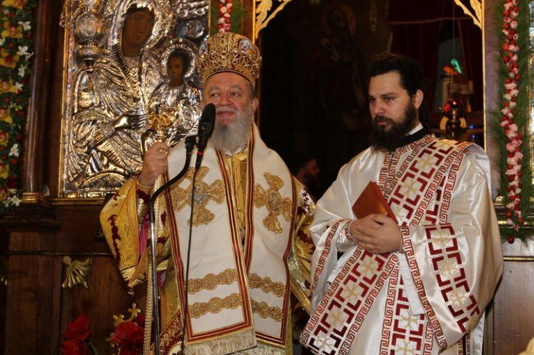H εορτή του Αγίου Νικολάου και χειροτονία διακόνου στην Ι. Μ. Χαλκίδος (ΦΩΤΟ)
