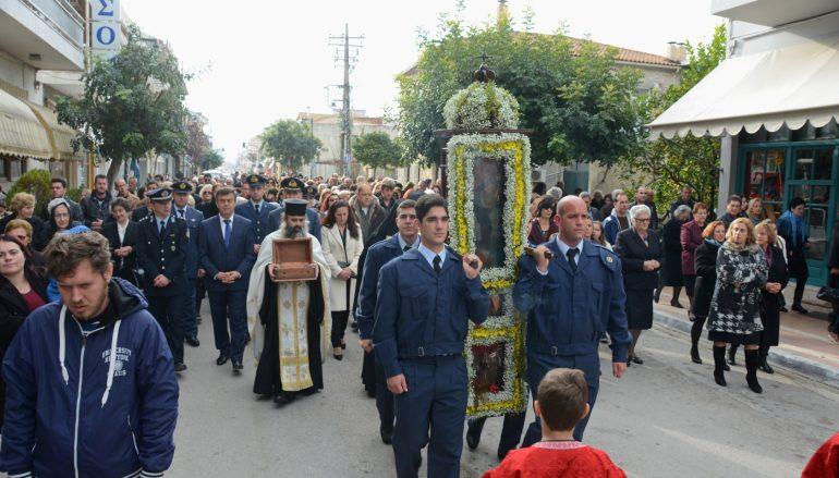 Η Βόνιτσα τίμησε τον Πολιούχο της Άγιο Σπυρίδωνα (ΦΩΤΟ)