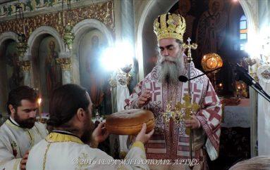 Η εορτή του Αγίου Νικολάου στην Ι. Μ. Άρτης (ΦΩΤΟ)