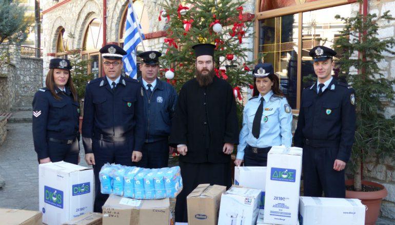 Το μήνυμα της προσφοράς στέλνει η Αστυνομία Καστοριάς (ΦΩΤΟ)