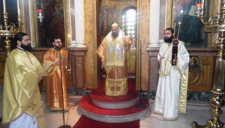Παραμονή της εορτής της του Χριστού Γεννήσεως στην Ι. Μ. Θεσσαλιώτιδος (ΦΩΤΟ)