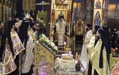 Η Λάρισα υποδέχθηκε τον Άγιο Σπυρίδωνα από την Κέρκυρα (ΦΩΤΟ)
