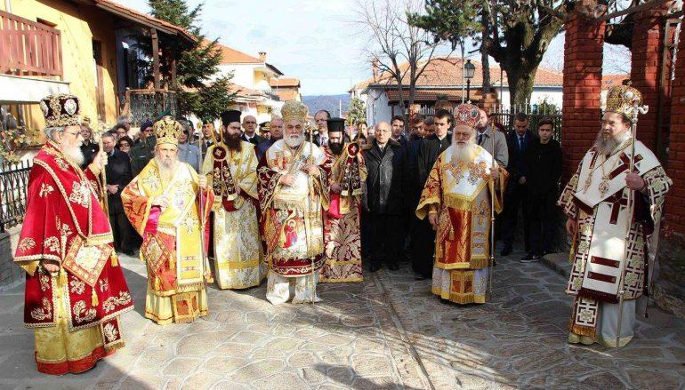 Η Αρναία τίμησε τον Πολιούχο της Πρωτομάρτυρα Στέφανο (ΦΩΤΟ)