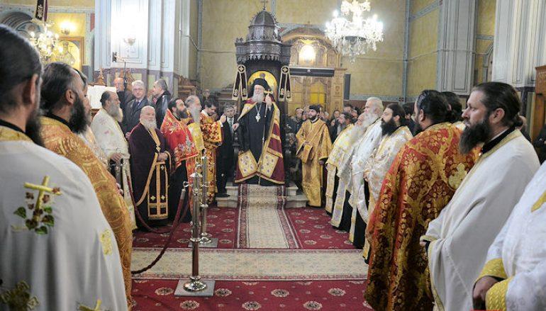 Εσπερινός για τον Πολιούχο του Μεσολογγίου Άγιο Σπυρίδωνα (ΦΩΤΟ)
