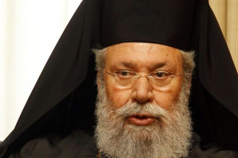 Αρχιεπίσκοπος Κύπρου: «Η εκκλησία θα συνεχίσει το ιστορικό της χρέος»