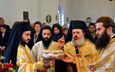 Με λαμπρότητα η εορτή του Αγίου Ελευθερίου στο Μερκοβούνι Τρίπολης (ΦΩΤΟ)