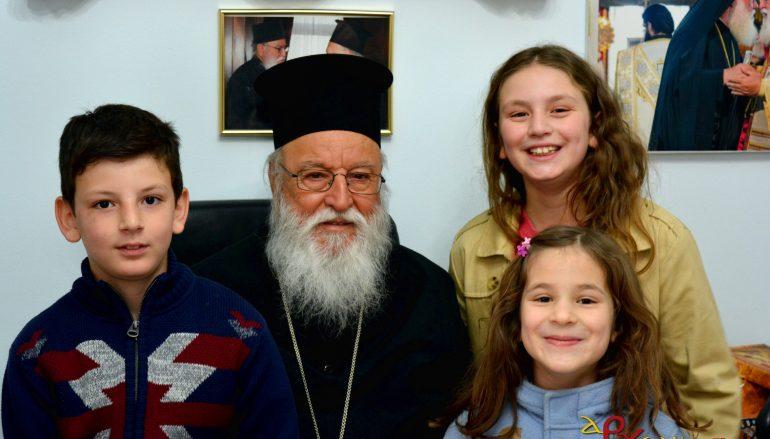 Με παιδικές φωνές γέμισε το Επισκοπείο της Τρίπολης (ΦΩΤΟ)