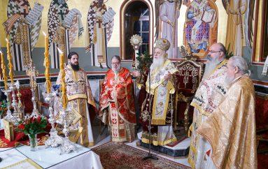 Χριστουγεννιάτικη Θ. Λειτουργία στην Ι. Μ. Βεροίας (ΦΩΤΟ)