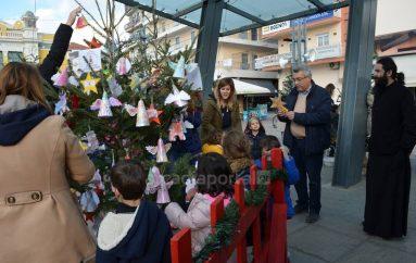 Ο Παιδικός Σταθμός της Ι. Μ. Μαντινείας στόλισε το χριστουγεννιάτικο δέντρο του (ΦΩΤΟ)