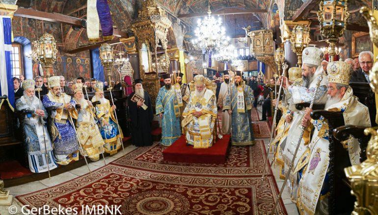 Πολυαρχιερατικό συλλείτουργο για τον Πολιούχο της Κοζάνης Άγιο Νικόλαο (ΦΩΤΟ)