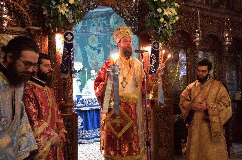 Η Εορτή του Αγίου Ελευθερίου στην Ι.Μ. Νέας Ιωνίας (ΦΩΤΟ)