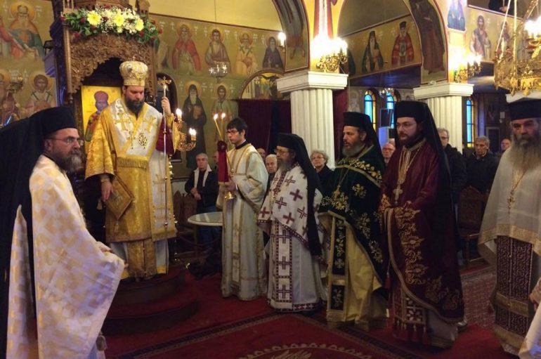 Η εορτή του Αγίου Σπυρίδωνος στην Ι. Μ. Νέας Ιωνίας (ΦΩΤΟ)