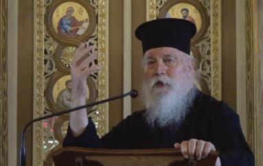Αρχιμ. Δανιήλ Αεράκης: «Κάθε πιστή καρδιά είναι σκηνή του σαρκωμένου Λόγου»