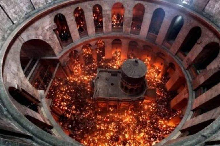 Θαυμαστή ανακάλυψη στον Πανάγιο Τάφο (ΦΩΤΟ)