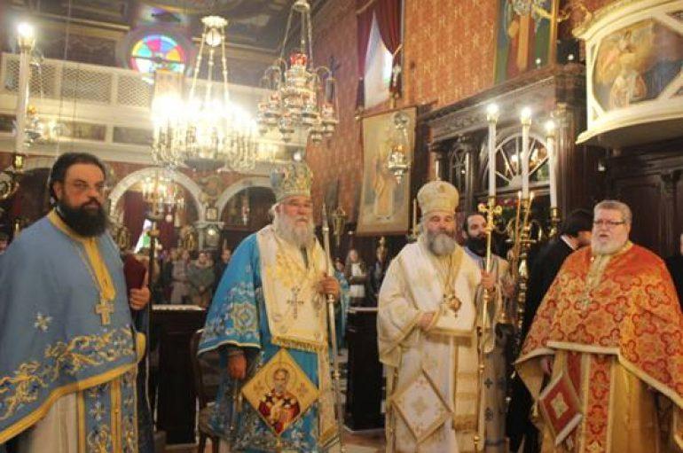 Δισαρχιερατικό Συλλείτουργο για τον Άγιο Νικόλαο στην Κέρκυρα (ΦΩΤΟ)