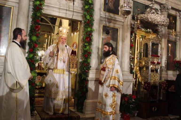 """Αρχιεπίσκοπος Αθηνών: """"Ο Άγιος Σπυρίδων υπήρξε ουράνιος άνθρωπος και επίγειος Άγγελος"""" (ΦΩΤΟ)"""