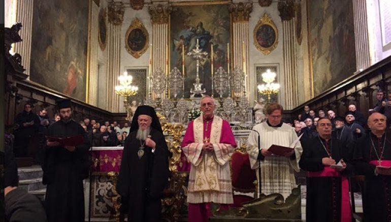 Ο Οικ. Πατριάρχης στον Καθεδρικό Ναό του Λέτσε (ΦΩΤΟ)