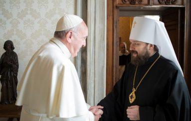 Στον Πάπα Ρώμης ο Μητροπολίτης Βολοκολάμσκ Ιλαρίωνας (ΦΩΤΟ)