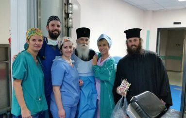 Ποιμαντική επίσκεψη του Μητροπολίτη Γλυφάδας στους ασθενείς του Νοσοκομείου Ασκληπιείου (ΦΩΤΟ)