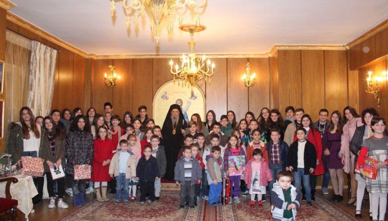 Γέμισε από παιδικά χαμόγελα το Επισκοπείο της Ι. Μ. Λαρίσης (ΦΩΤΟ)