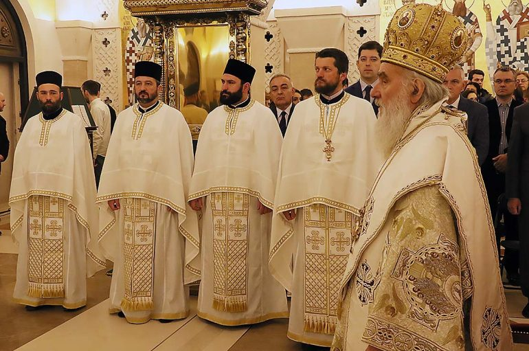 Εορτή του προστάτη του Σερβικού Έθνους Αγίου Σάββα (ΦΩΤΟ)