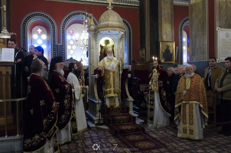 Πανηγύρισε ο Μητροπολιτικός Ι. Ναός Αγ. Βασιλείου Τρίπολης (ΦΩΤΟ – ΒΙΝΤΕΟ)