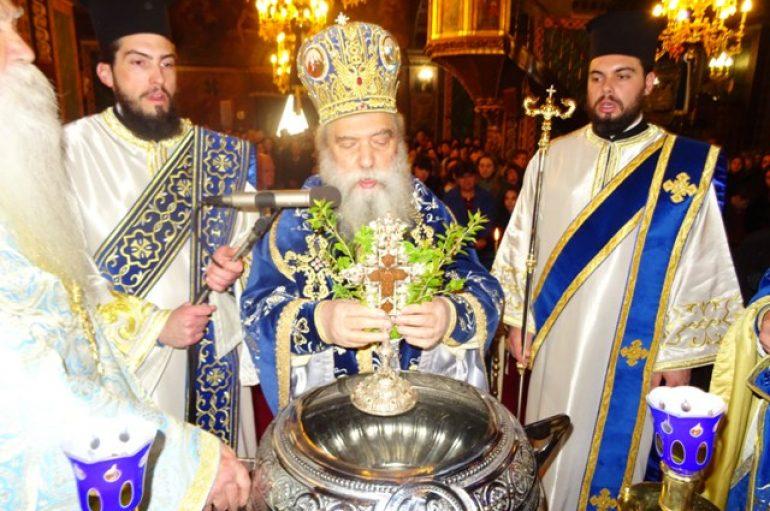 Η Δεσποτική εορτή των Θεοφανείων στον Μητροπολιτικό Ναό Σπάρτης (ΦΩΤΟ)