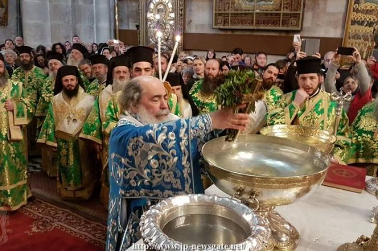 Η εορτή των Θεοφανείων στο Πατριαρχείο Ιεροσολύμων (ΦΩΤΟ – ΒΙΝΤΕΟ)