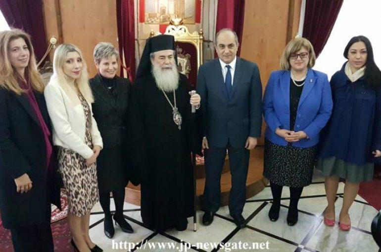 Στο Πατριαρχείο Ιεροσολύμων ο Πρόεδρος της Κυπριακής Βουλής (ΦΩΤΟ)