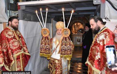 Η εορτή της Περιτομής του Κυρίου στο Πατριαρχείο Ιεροσολύμων (ΦΩΤΟ-ΒΙΝΤΕΟ)