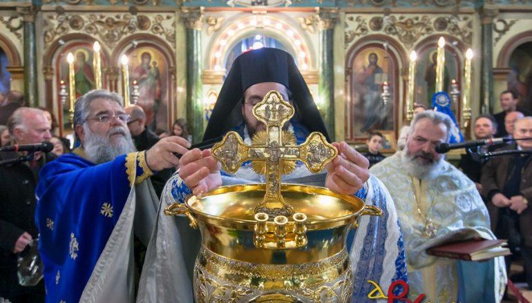 Ο εορτασμός των Θεοφανείων στην Τρίπολη (ΦΩΤΟ)