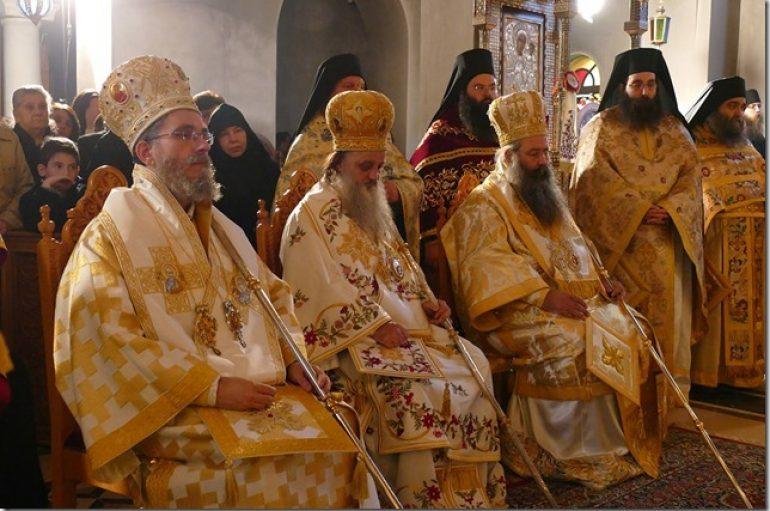 Πανηγύρισε η Ιερά Μονή του Αγίου Διονυσίου του εν Ολύμπω (ΦΩΤΟ)