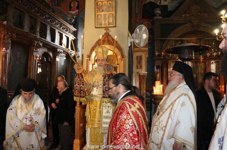 Ο Πατριάρχης Ιεροσολύμων εγκαινίασε αίθουσα της Ι. Μ. Αγ. Γεωργίου Μπετζαλλά (ΦΩΤΟ-ΒΙΝΤΕΟ)