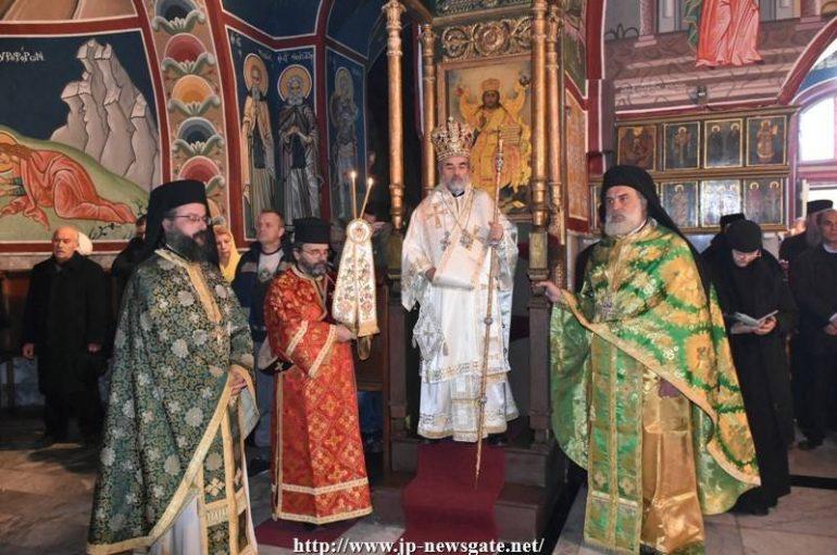Η εορτή της Συνάξεως του Τιμίου Προδρόμου στο Πατριαρχείο Ιεροσολύμων (ΦΩΤΟ)