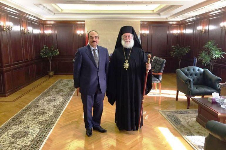 Eόρτιες εκδηλώσεις και συναντήσεις του Πατριάρχη Αλεξανδρείας (ΦΩΤΟ)