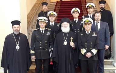 Στον Πατριάρχη Αλεξανδρείας ο Αρχηγός του Γενικού Επιτελείου Ναυτικού (ΦΩΤΟ)