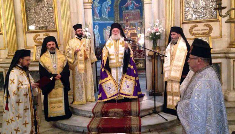 Πρωτοχρονιά στο Πατριαρχείο Αλεξανδρείας (ΦΩΤΟ)